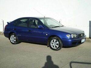 2000 Toyota Corolla SECA Conquest Blue 4 Speed Automatic Hatchback Chifley Woden Valley Preview