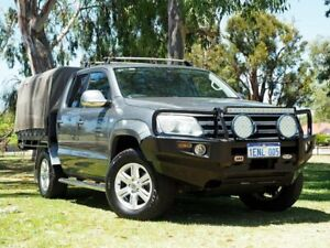 2014 Volkswagen Amarok 2H MY14 TDI420 4Motion Perm Highline Grey 8 Speed Automatic Utility Myaree Melville Area Preview