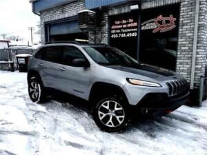 2015 Jeep Cherokee Trailhawk V6 4X4 Trail  Rated CUIR TOIT PANOR