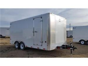 2017 8X16 ENCLOSED TRAILER BY ROYAL 7799 GVWR - $7244.00 GST INC