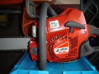 Efco 18 inch petrol chainsaw. 2011 model in excellent order