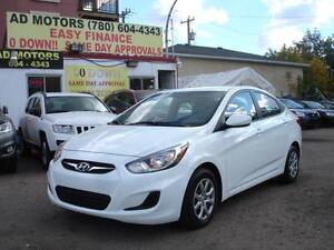 2014 HYUNDAI ACCENT AUTO LOADED 70K-100% APPROVED FINANCING!