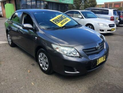 2009 Toyota Corolla ZRE152R Ascent Charcoal 4 Speed Automatic Sedan