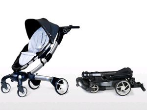 4MOMS ORIGAMI TECH STROLLER W/ ALL ACCESSORIES!