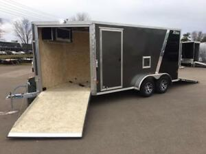 NEW 2019 XPRESS 7' x 19' ELITE SNOWMOBILE TRAILER