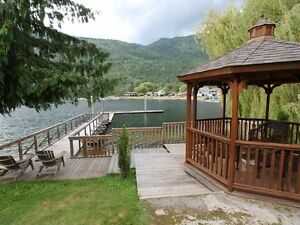JUST LISTED! LAKEFRONT Home on Beautiful Adams Lake!