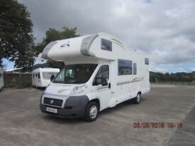 2011 CI CARIOCA 707 7 BERTH 130 6 SPEED MOTORHOME WITH TWIN REAR BUNKS ANDERSON MOTORHOME SALES