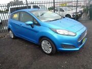 2013 Ford Fiesta WZ Ambiente Aqua 5 Speed Manual Hatchback Sandgate Newcastle Area Preview