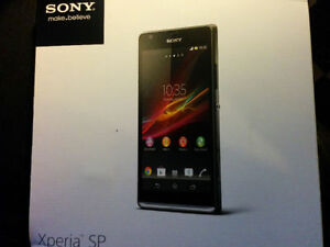 Black Sony Xperia SP LTE like new/à l'état neuf  $90