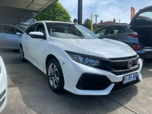 2017 Honda Civic 10th Gen MY17 VTi White 1 Speed Constant Variable Hatchback North Hobart Hobart City Preview
