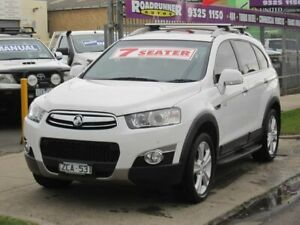 2012 Holden Captiva CG Series II 7 AWD LX White 6 Speed Sports Automatic Wagon Altona North Hobsons Bay Area Preview