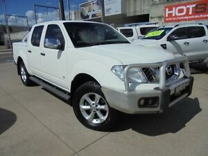 2012 Nissan Navara D40 S5 MY12 ST-X White 7 Speed Sports Automatic 4D Utility Holroyd Parramatta Area Preview