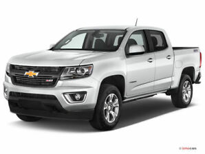 2007 Chevrolet Colorado LT cab and a half White Pick Up truck