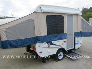 2012 FOREST RIVER CLIPPER, 106 TENT TRAILER FOR SALE