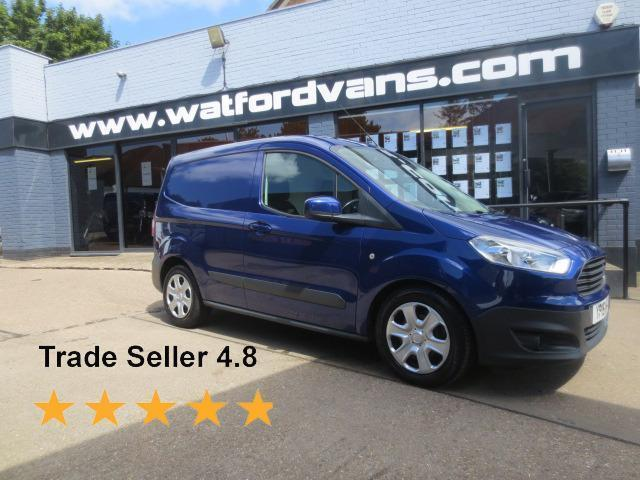2015 Ford Transit Courier Trend 1.5TDCi *A/C*E/W*Cruise* Diesel blue Manual