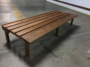 1.75m x 70cm Large Timber Bench. Great Condition Artarmon Willoughby Area Preview
