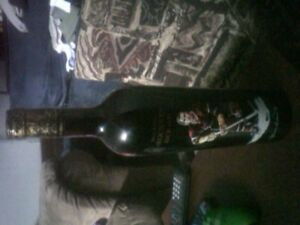 Red Merlot rocket Richard never opened  limited edition