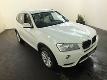 2011 BMW X3 E83 MY09 xDrive 20D Lifestyle White 6 Speed Steptronic Wagon Clemton Park Canterbury Area Preview