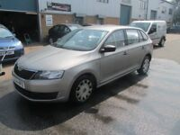 £2495 skoda rapid 2014 14,plate 1.2 petrol 5dr very good condition/runner px/welcome
