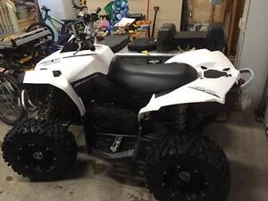 2011 Can Am Renegade 800R...White!!