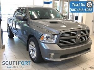 2013 Ram 1500 Sport - Crew|Lowered|Sunroof|NAV|Leather|5.7L V8