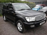 TOYOTA LAND CRUISER AMAZON 4.7 VX 7 SEATER AUTO 232 BHP (black) 1999