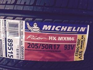 4 Brand New Michelin Pilot HX MXM4 205/50R17 All Season Tires *** WallToWallTires.com ***