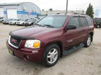 2005 GMC ENVOY 4X4 HAS SAFETY AND WARRANTY, $5,950