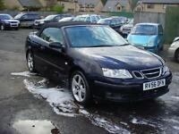 Saab 9-3 1.8t Vector Convertible (56) 74,000 mls