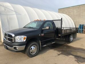 2008 Dodge 3500 6.7L Diesel with Flat Deck for Sale