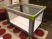 Baby Travel Cot with Mattress