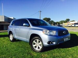 2010 Toyota Kluger GSU40R KX-R (FWD) 5 Seat Glacier 5 Speed Automatic Wagon Maddington Gosnells Area Preview