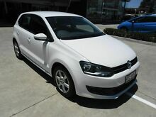 2012 Volkswagen Polo 6R MY12.5 66TDI Comfortline White 5 Speed Manual Hatchback Yamanto Ipswich City Preview