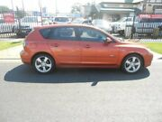 2004 Mazda 3 BK1031 SP23 Orange 5 Speed Manual Hatchback Hampstead Gardens Port Adelaide Area Preview