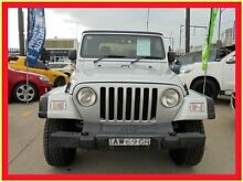 2005 Jeep Wrangler TJ MY2005 Sport Silver 6 Speed Manual Softtop Holroyd Parramatta Area Preview