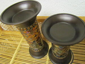TWO PARTY LITE GLOBAL CANDLE HOLDERS price lowered Edmonton Edmonton Area image 4