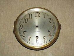 Antique Seth Thomas Mantle Clock Dial and Bezel (Westminster Chime)