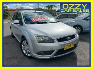 2008 Ford Focus LT Zetec Silver 5 Speed Manual Hatchback Minto Campbelltown Area Preview
