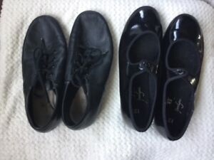 Jazz and Tap Shoes Size 13, 13.5