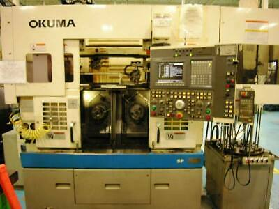 Okuma Lsf10-2sp Twin Spindle Cnc Lathe With Loaderstacker