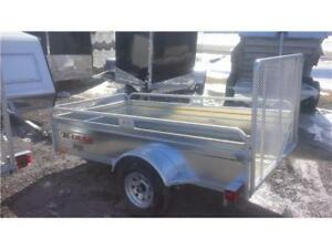 2018 K Trail  5`x8`  Galvanized Utility Trailer     NO MORE RUST
