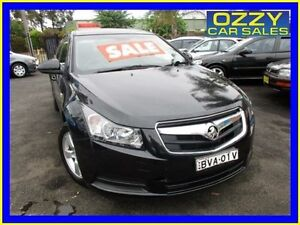2010 Holden Cruze JG CD Black 5 Speed Manual Sedan Minto Campbelltown Area Preview