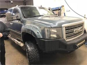 2012 GMC Sierra 2500HD Denali Lifted, Bumpers, Flares, Chipped !