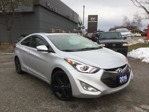 2014 Hyundai Elantra Coupe SE - ACCIDENT FREE - 4 new tires and