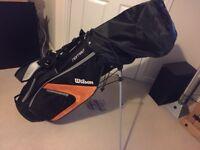 Wilson x31 golf clubs full set left handed