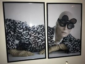 Luxury picture with frame Tilda Swinton