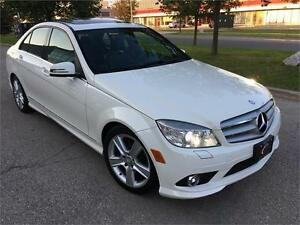 201O MERCEDES BENZ C300 4MATIC/BLUETOOTH/SUNROOF/NO ACCIDENT