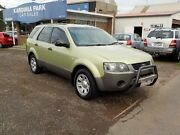 2004 Ford Territory SX TX (RWD) Green 4 Speed Auto Seq Sportshift Wagon South Geelong Geelong City Preview
