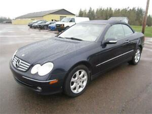 2004 Mercdes CLK320 Convertable