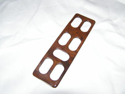 WOOD EFFECT window switch cover  SAAB 900 CONVERTIBLE CLASSIC TURBO 6 switches for sale  Shipping to Ireland